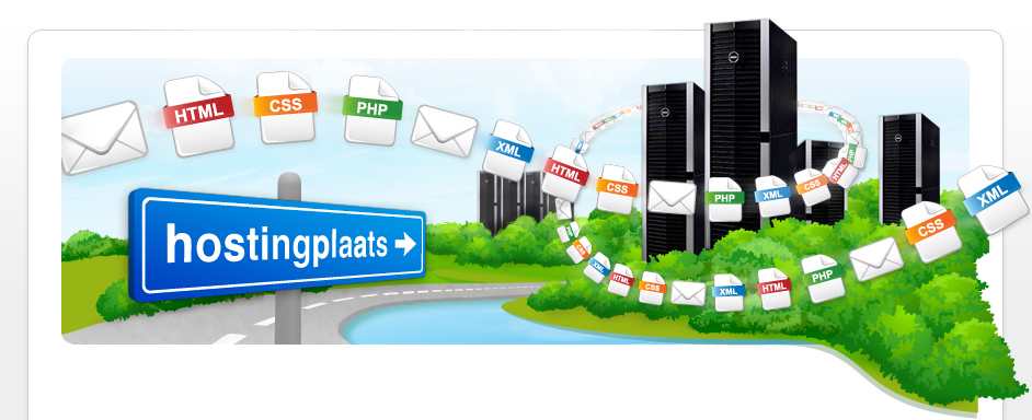 Hosting en webhosting via Hostingplaats.nl